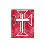 Pretty red christian cross 2 L l
