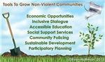 Tools to Grow Non-Violent Communities
