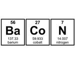 Bacon Periodic Table Element Symbols