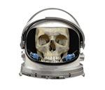 Space Helmet Astronaut Skull