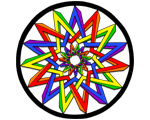 25. Pentagrams #2 - Color