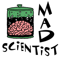 Mad Scientist t-shirts