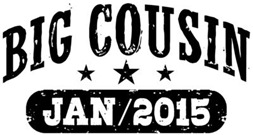 Big Cousin January 2015 t-shirt