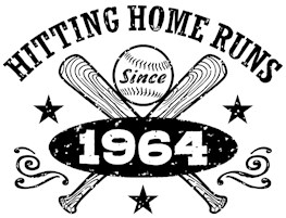 Baseball Birthday 1964 t-shirts