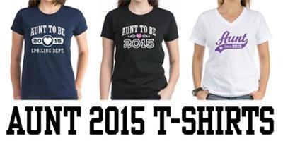Aunt 2015 t-shirts