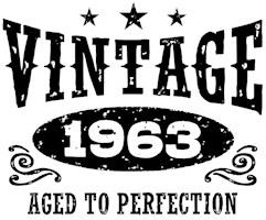 Vintage 1963 t-shirts