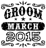 Groom March 2015  t-shirt