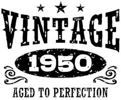 Vintage 1950 t-shirts