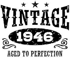 Vintage 1946 t-shirts