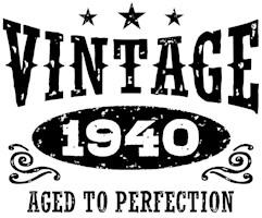 Vintage 1940 t-shirts