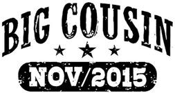 Big Cousin November 2015 t-shirt