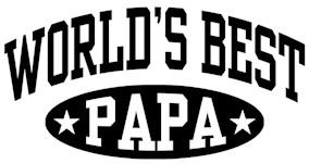 World's Best Papa t-shirts