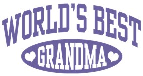 World's Best Grandma t-shirts
