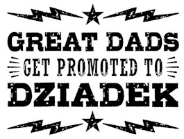 Great Dads Get Promoted To Dziadek t-shirt