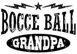 Bocce Ball Grandpa t-shirt