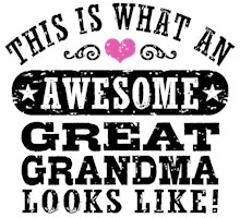 Awesome Great Grandma t-shirt