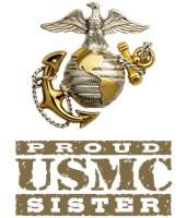 Proud USMC Sister t-shirts