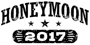 Honeymoon 2017 t-shirts