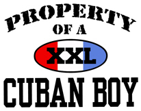 Property of a Cuban Boy t-shirts