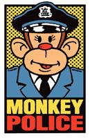 Monkey Police t-shirt