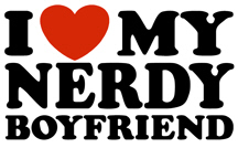 I Love My Nerdy Boyfriend t-shirt
