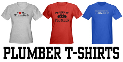 Plumber t-shirts and gifts