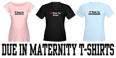 Due In Maternity t-shirt