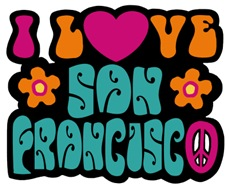 I Love San Francisco t-shirt