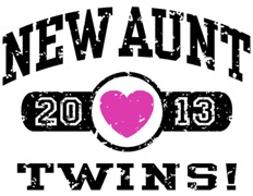 New Aunt Twins 2013 t-shirt