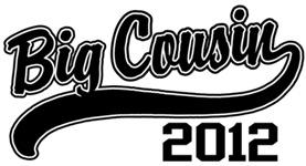 Big Cousin 2012 t-shirt