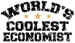 World's Coolest Economist t-shirts