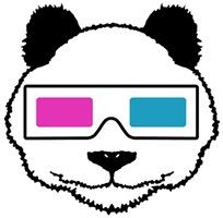 3D Panda t-shirt