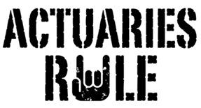 Actuaries Rule t-shirts