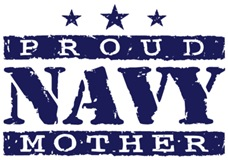 Proud Navy Mother t-shirt