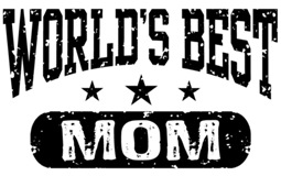 World's Best Mom t-shirts