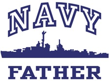 Navy Father t-shirt