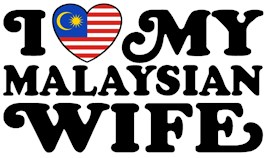 I Love My Malaysian Wife t-shirts