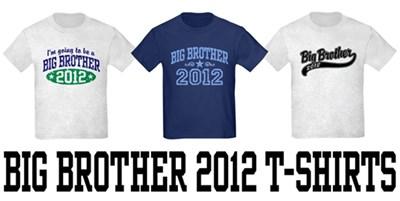 Big Brother 2012 t-shirts