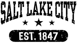 Salt Lake City Utah t-shirts