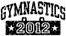Gymnastics 2012 t-shirt
