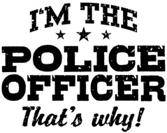 Funny Police Officer t-shirts