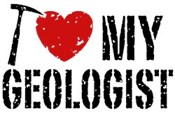 I Love My Geologist t-shirt