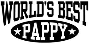 World's Best Pappy t-shirts