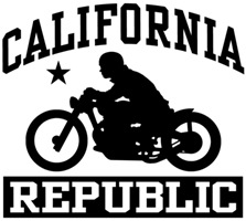 California Bobber t-shirt