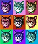 Cats Pop Art