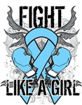 Thyroid Disease Ultra Fight Like a Girl Shirts