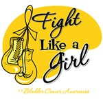 Fight Like a Girl Bladder Cancer Shirts and Gifts