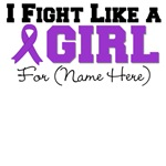 Custom I Fight Like a Girl Pancreatic Cancer
