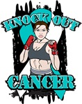 Knock Out Cervical Cancer Shirts