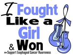 I Fought Like a Girl Esophageal Cancer Shirts